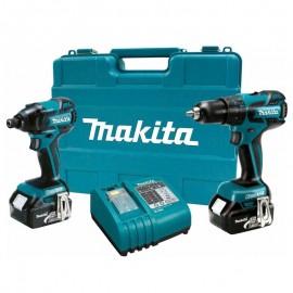 Ensemble 2 machines 10,8V LI-ION 3 AH MAKITA