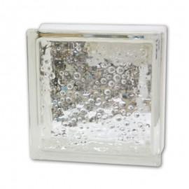Brique de verre bulles