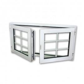 Fenêtre ALU double vitrage 120x60