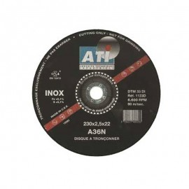 Disque à tronçonner INOX/METAL ATI