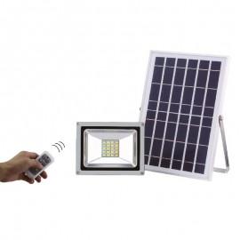 Projecteur solaire LED / télécommande
