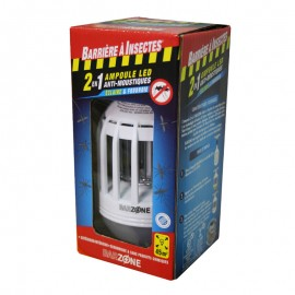 Ampoule LED anti moustique