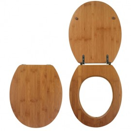 ABATTANT WC CASUAL L BAMBOO