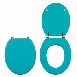 ABATTANT WC WOODY TURQUOISE
