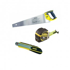 Pack CHARPENTIER 3 OUTILS STANLEY