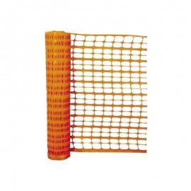 Grillage balisage 1mx50 - orange